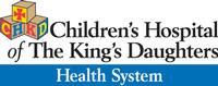 CHILDREN'S HOSPITAL OF THE KING'S DAUGHTERS HEALTH SYSTEM Logo